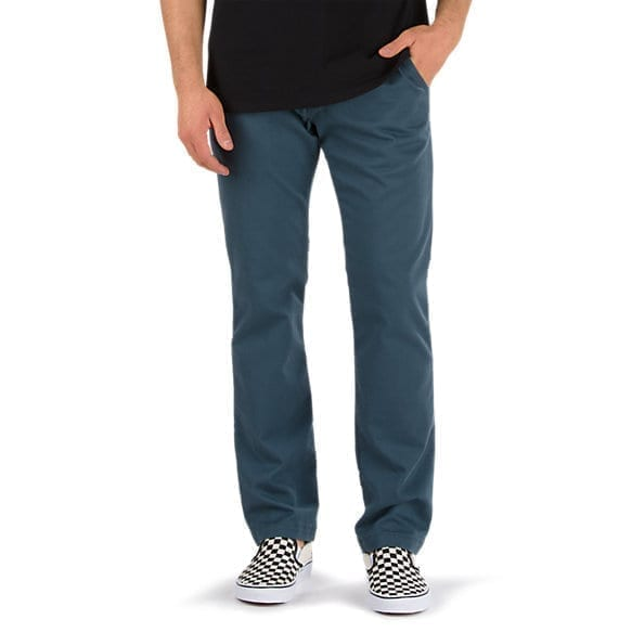 vans authentic mens dark slate chino stretch pant cheam